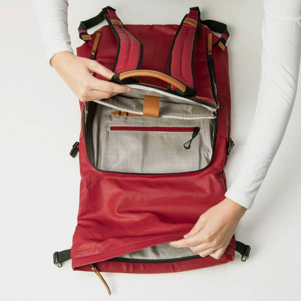 Aunts and Uncles Fukui Backpack Rosewood