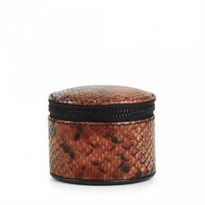 Bilde av Markberg Lova Jewelry Box S Snake Burnt Orange